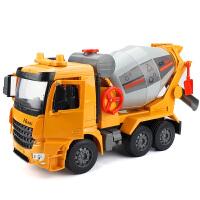 大号搅拌车玩具混凝土工程车玩具汽车水泥车男孩惯性车儿童玩具车