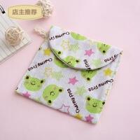 家用韩国可爱卡通卫生巾收纳包全棉卫生棉包大容量装姨妈巾包收纳袋SN0701