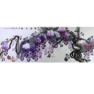中国美协会员,中国书协会员 侯桂峰(紫气东来)1