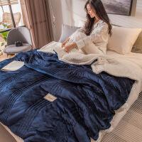 珊瑚绒毛毯被子加厚冬季双人法兰绒毯子女午睡盖毯200x230 200x230cm