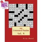 【中商海外直订】100 crossword puzzles Vol. 4