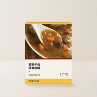 网易严选 日式即食咖喱 150克