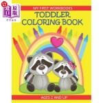 【中商海外直订】Toddler Coloring Book My First Workbooks Ages 2 and