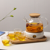 日式��T煮茶�t保�鼗ú璞�玻璃茶具茶�靥籽b