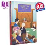 【中商原版】十二人的判决(大英图书馆犯罪小说经典)英文原版 Verdict of Twelve (British Li