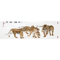 《五福临门》张一娜 书画家协会一级美术师R3614