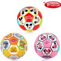 哈哈球迪士尼2号3号足球儿童充气玩具足球幼儿园游戏专用足球