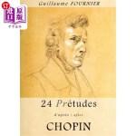 【中商海外直订】24 Pre-Etudes D'Apres/After Chopin - Partition Pour