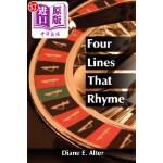 【中商海外直订】Four Lines That Rhyme