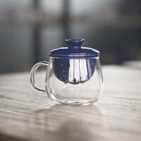 玻璃个人杯陶瓷过滤茶杯茶具办公室泡花茶杯子喝茶水杯