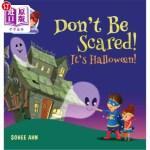 【中商海外直订】Don't Be Scared! It's Halloween!