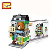 LOZ/俐智小颗粒积木迷你街景益智拼插儿童玩具拼装模型男女孩成人1627