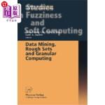 【中商海外直订】Data Mining, Rough Sets and Granular Computing