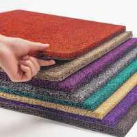 丝圈地垫入户门垫门厅地毯防滑防尘pvc垫子进户门家用脚垫可裁剪