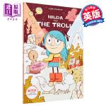 【中商原版】动画原著:希尔达1(希尔达与山怪) 英文原版 Hilda and the Troll (Hildafolk
