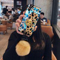 小米8手机壳女款豹纹8se超薄小米6x硅胶5x网红红米note4保护套4x蓝光5a高配版5plus毛