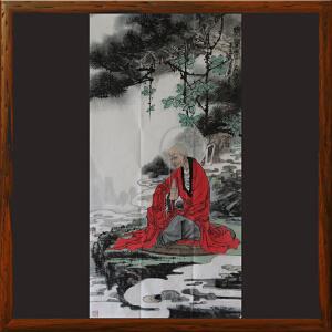 原创画《无量寿》李志远ML2648 中国艺术文化研究会理事 高级画师