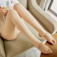 打底裤女秋冬季加绒加厚肉色光腿裤显瘦保暖裤外穿一体踩脚连裤袜