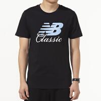 New Balance/NB 男装 运动短袖休闲圆领T恤 AMT91588BK