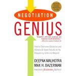 英文原版 哈佛经典谈判术 Negotiation Genius: How to Overcome Obstacles