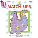 【中商海外直订】Match-ups: Early Alphabet Skills