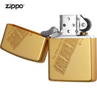 zippo芝��打火�C美��正版原�bZBT-1-105b� �f富豪金黑色芝��打火�C