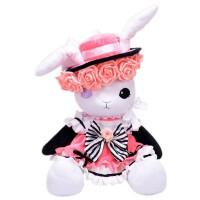 黑执事夏尔女装兔子动漫周边毛绒抱枕玩偶萌公仔cos道具礼物洛丽塔
