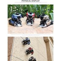 儿童玩具车男孩遥控变形特技爬墙车吸墙遥控汽车金刚机器人