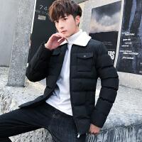 棉衣男士冬季外套新款加绒加厚男装短款衣服棉袄羽绒棉服潮流