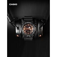 GA-700MMC casio旗舰店玫瑰黑金潮流手表男卡西欧官网G-SHOCK官方