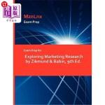 【中商海外直订】Exam Prep for Exploring Marketing Research by Zikmu