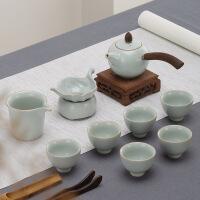 功夫茶具泡茶茶壶茶杯家用杯子整套泡茶器茶海套装 台湾丰子10头功夫茶具