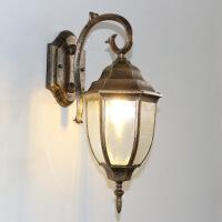 户外壁灯防水欧式复古阳台庭院灯美式过道楼梯室外田园LED墙壁灯