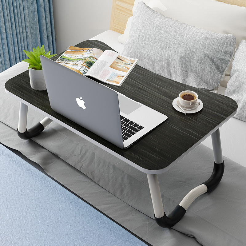 【热销】防滑可折叠笔记本电脑桌床上小桌子床上书桌懒人桌宿舍桌子寝室书桌 支持礼品卡+积分 免安装 展开即用