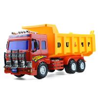 挖土机卡车玩具车小男孩宝宝车翻斗车工程车消防车挖掘机