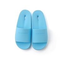 浴室拖鞋防滑洗澡漏水居家塑料拖鞋情侣日式家居男室内拖鞋女夏