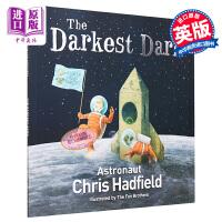 预售【中商原版】最黑暗的深处 英文原版 The Darkest Dark 太空宇航员幼儿绘本 4-6岁