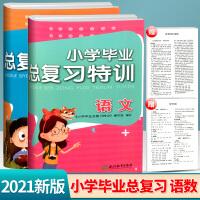 小学毕业总复习特训语文数学2021新版