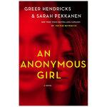 An Anonymous Girl 一个匿名的女孩 英文原版悬疑惊悚小说
