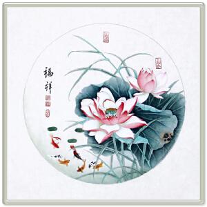 《福祥》 R5296 张一娜 手绘精品国画