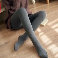 竖条加厚加绒打底裤女外穿秋冬季保暖女士一体裤