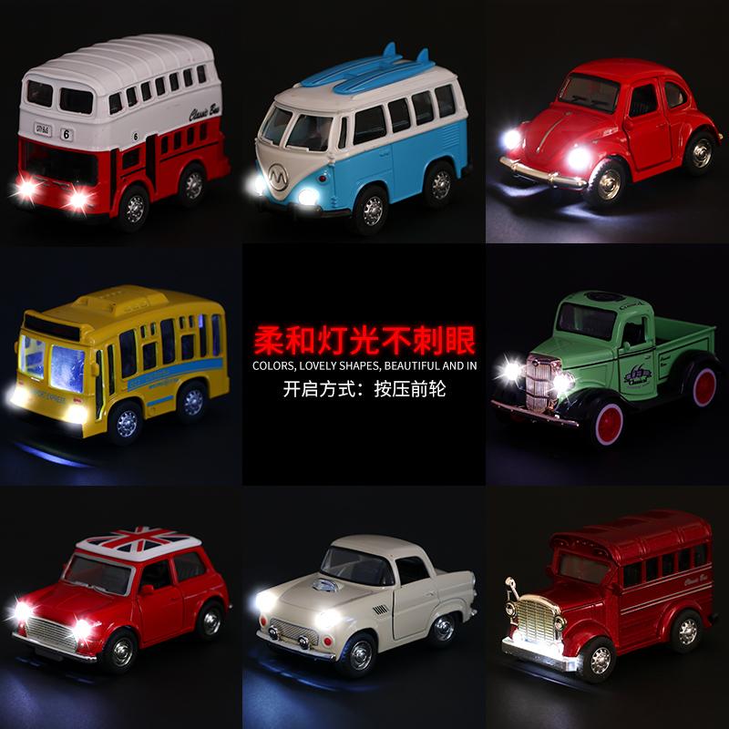 儿童汽车玩具男孩合金仿真玩具车套装车模型宝宝迷你小汽车