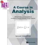 【中商海外直订】A Course in Analysis: Vol. II: Differentiation and