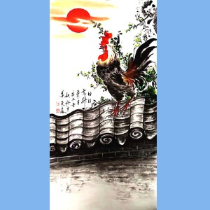 国家一级美术师,北京市美术家协会会员,中国国际书画艺术研究会会员张东海(日日高升)55
