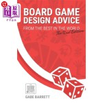 【中商海外直订】Board Game Design Advice: From the Best in the Worl