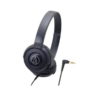 Audio Technica/铁三角 ATH-S100头戴式耳机 入门监听耳机 重低音 新潮流行 街头新宠