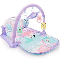 新生儿童女孩0-1岁宝宝3-6个月男孩益智玩具婴儿脚踏钢琴健身架器