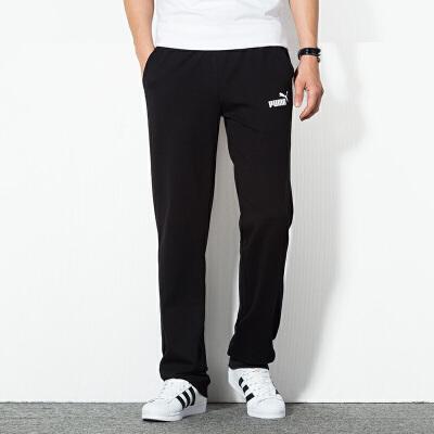 PUMA彪马 男裤 运动裤休闲直筒透气长裤 843730 运动裤休闲直筒透气长裤