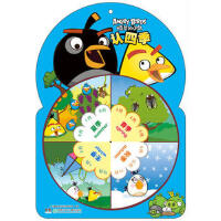 愤怒的小鸟转盘书――认四季 广州童年美术设计有限公司 湖南少年儿童出版社