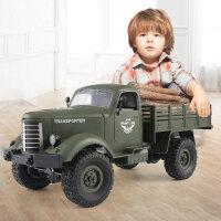 3-6-10周岁男孩子儿童玩具遥控越野车汽车四六驱充电动大脚攀爬车